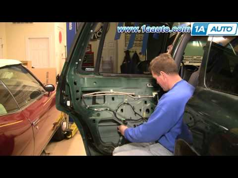 How To Install Replace Broken Power Window Regulator REAR Dodge Durango 98-04 1AAuto.com