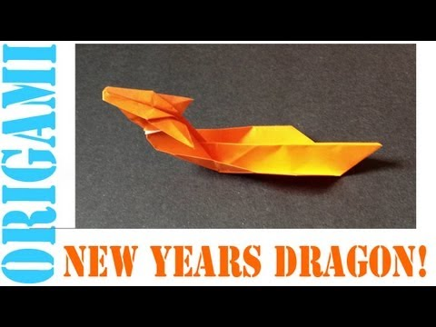 Origami Daily - 119: Chinese New Years Dragon - TCGames [HD]