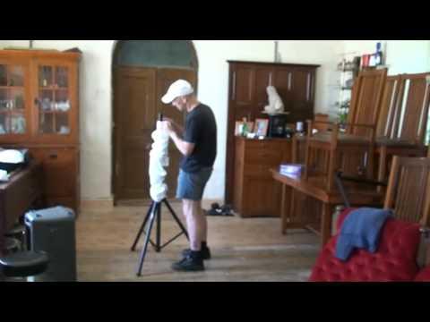 DJSkirts. Glow Skirts for a tri pod.  Video 6
