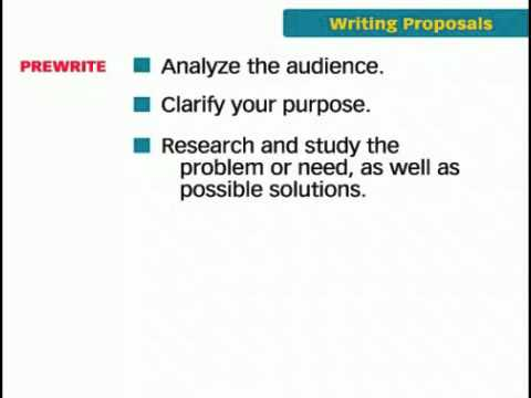 Saylor BUS210: The Key Forms of Business Writing - Proposals