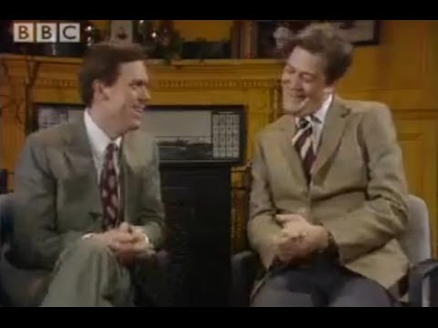 Hugh Laurie interviews Michael Jackson- A Bit of Fry and Laurie- BBC Comedy