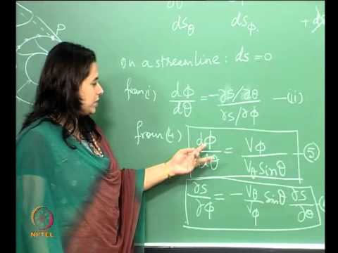 Mod-01 Lec-38 Supersonic Flow past a 3D Cone at an angle of attack: Governing Equations