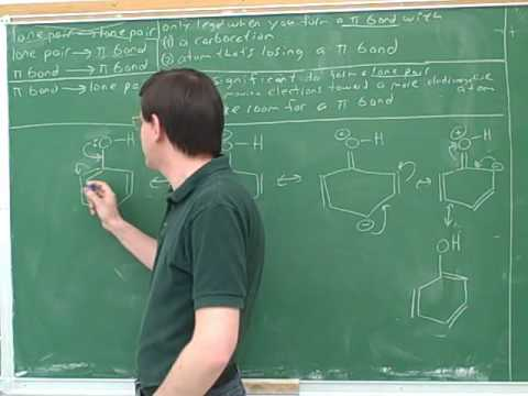 Introduction to drawing resonance structures (4)