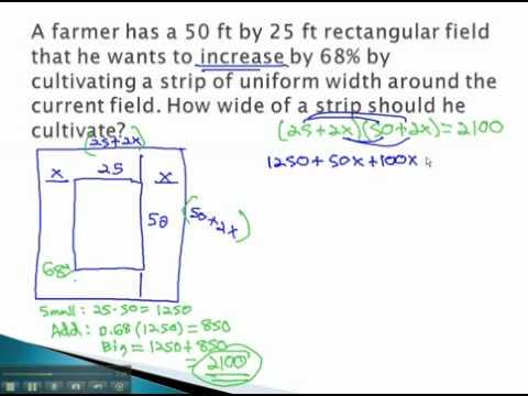Frames - Percent of a Field (part 2)