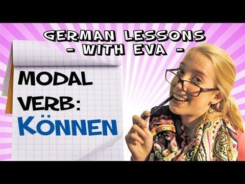 German Lesson 19 - The modal verb: Können