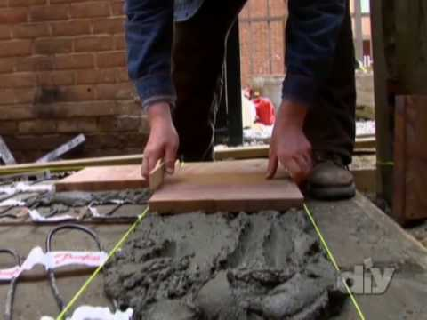 Heated Outdoor Sandstone Patio-DIY