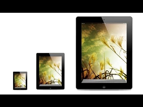 Create an iPad 2 Vector Icon - Illustrator CS5