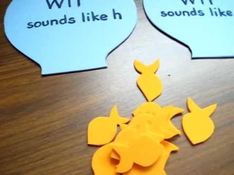 Grade 1 - Reading. W sound game