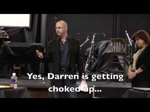 "ASK Darren:  Why did ""make people laugh"" pop into your head when..."