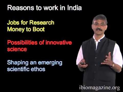 Satyajit Mayor: Biological Sciences in India