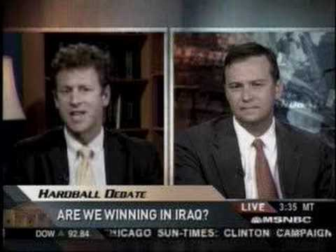 Cherry Picking Facts on Iraq--Brian Katulis on Hardball