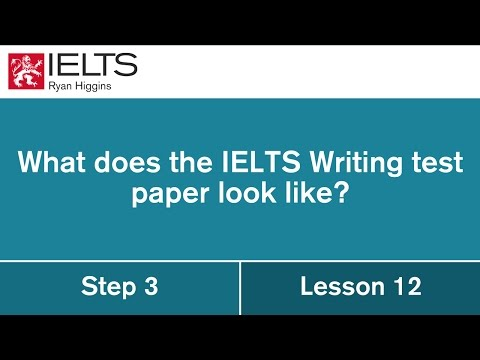 What does the IELTS testing paper look like?