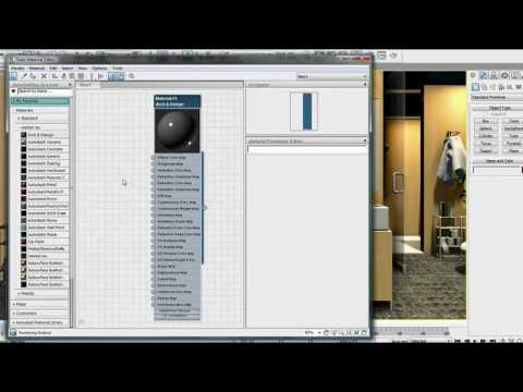 Slate Material Editor — 3ds Max Design 2011 New Features