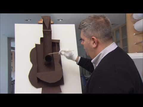 Picasso: Guitars 1912-1914 | Picasso's Metal Guitar (1914)