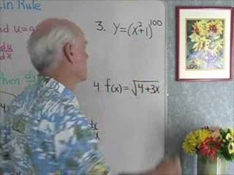 Calculus: Chain Rule 1