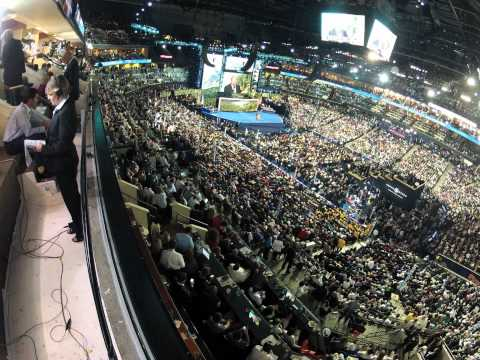 Watch the Democratic National Convention in Time Lapse Form