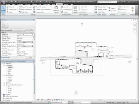 Autodesk Revit Architecture 2011  Linked Files & Workset Visibility