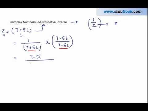 Complex Numbers - Mulitplicative Inverse