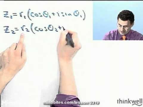Trigonometry: Multiply Complex Numbers-Trig,Polar