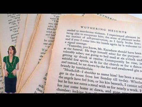 "Wuthering Heights PLOT -- ""Wuthering Heights"" by Emily Brontë ... from 60second Recap®"