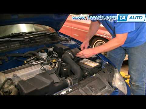 How To Install Replace Service Engine Air Filter Chevy Cavalier 03-05 1AAuto.com