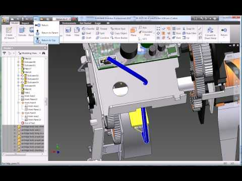 Autodesk Inventor 2010 Cable and Harness Design