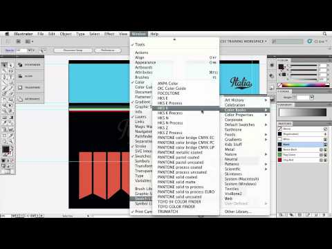 Adobe Illustrator CS5 Essentials  COLOR, GRADIENTS & PATTERNS Applying Pantone® Spot Colors