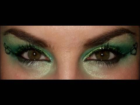 St Patricks Day 2010 look Make up idea