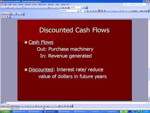 Capital Budgeting One