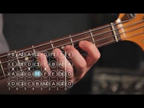 Bass Scales: How to Play the G Sharp/A Flat Minor Scale