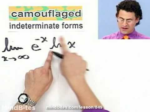 Calculus: L'Hopital's Rule, Indeterminate Products