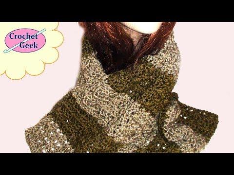 Crochet Geek - Crochet Freedom Scarf