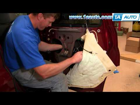 How To Install Replace Broken Rear Power Window Regulator Chevy HHR 06-10 1AAuto.com