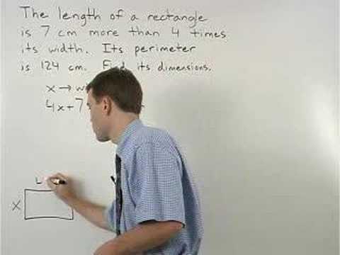 Perimeter Word Problems - YourTeacher.com - Geometry Help