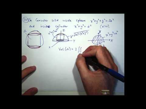 Center of mass, double integrals and polar co-ordinates tutorial