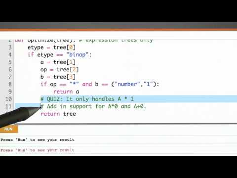 Optimization Phase - CS262 Unit 6 - Udacity