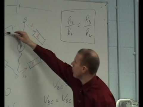 Theory of the Wheatstone Bridge (part 2 of 2)