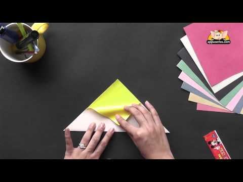 How to make a Sail Boat - Origami