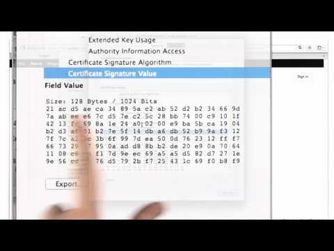 Certificates And Signatures - CS387 Unit 5 - Udacity