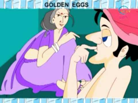 Animated Stories - Golden Eggs - English - Kids Cartoon