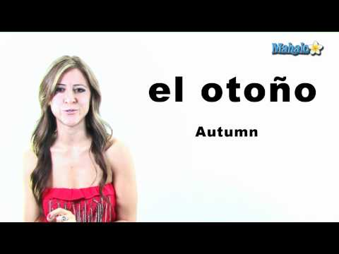 "How to Say ""Autumn"" in Spanish"