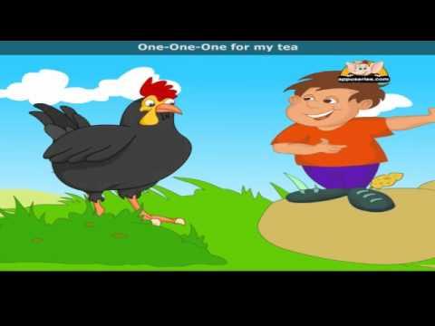 Chick, Chick, Chicken with Lyrics - Nursery Rhyme