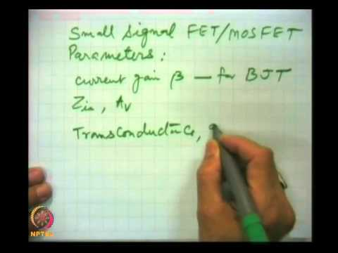 Mod-05 Lec-26 Self Bias (Contd.) Design Procedure