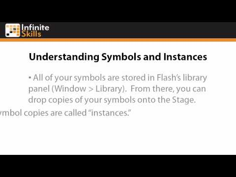 Adobe Flash CS6 Tutorial | Understanding Symbols and Instances