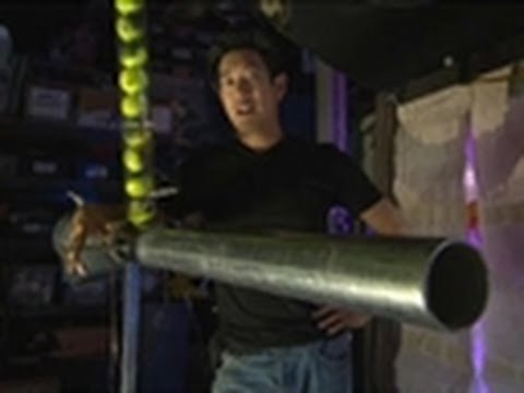 Tennis Ball Cannon | MythBusters