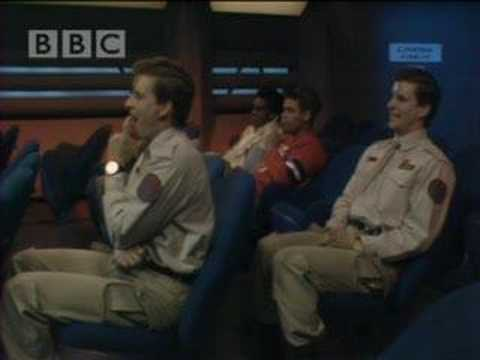 Rimmer and Rimmer at the cinema - Red Dwarf - BBC comedy
