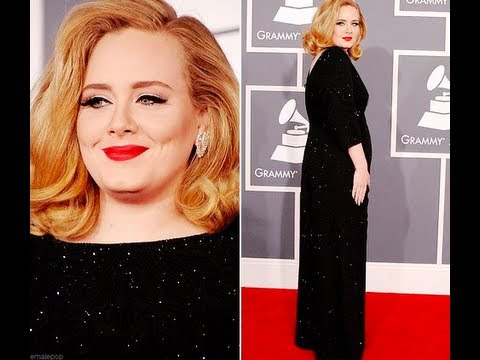 Adele Grammy's 2012 Red Carpet make up look