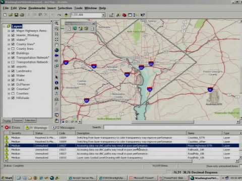 ArcGIS 9.3.1 - Optimized Map Services Demo