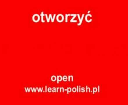 "How do you say ""may I open the window"" in Polish?"