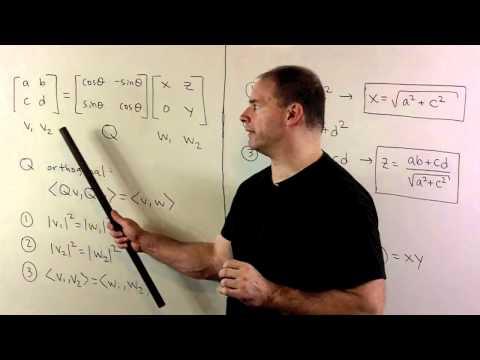 QR-Decomposition for a 2x2 Matrix